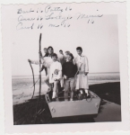 LADS At Short Beach, Summer Of 1958. Barb, Patty, Anne, Lolly, Mercie, Carol, & Joyce. All 16 yrs Old.