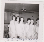 September 19, 1958. PJ Party at Jo Buckley's.