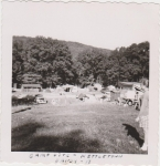 Lads Camping At Kettletown State Park August 1958.