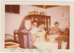 Nancy's 16th Birthday Party In Mercie's Basement. November 1957.